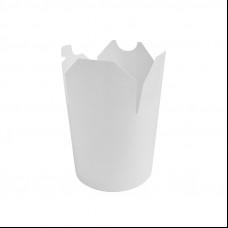 Контейнер бумажный Сhina Pack 750 мл Белый