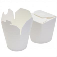 Контейнер бумажный Сhina Pack 450 мл Белый