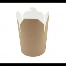 Контейнер бумажный Сhina Pack 450 мл Крафт