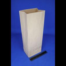 Пакет бумажный 130х70х285 крафт 70 гр