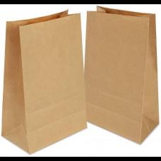 Пакет бумажный 140х60х250 крафт ТП