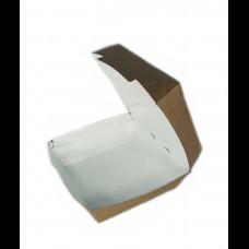 Коробка для гамбургера 120х120х70 мм Крафт