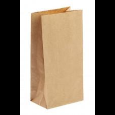 Пакет бумажный 150х95х300 крафт 70 гр (1100) ПП