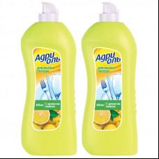 Средство для посуды Адриоль лимон 0,85 л