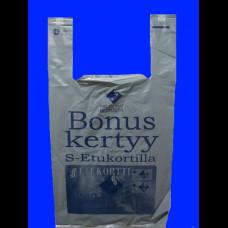 Пакет-майка ПВД 32х18х64 Бонус Маркет 40 мк