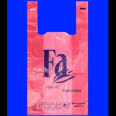 Пакет-майка ПНД 30х16х57 FA красная 30 мк
