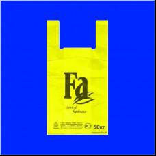 Пакет-майка ПНД 30х16х57 FA желтая 30 мк