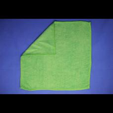 Салфетка из микрофибры 29х29 200 пл зеленая