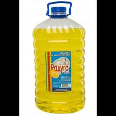 """Средство для посуды """"Радуга"""" Лимон 5 л"""