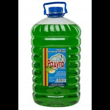 """Средство для посуды """"Радуга"""" Яблоко 5 л"""