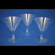 Бокал для мартини 100 мл прозр. (6шт/упак)  Покров полимер