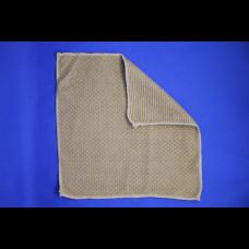Салфетка Relief Lux (микрофибра) 30х30 кофейный