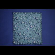 Салфетка Universal (микрофибра+губка) 17х19 синий