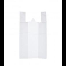 Пакет-майка ПНД 28х14х50 белая 8 мк К