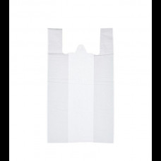 Пакет-майка ПНД 30х16х60 белая 16 мк К