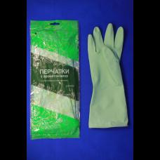 Перчатки хозяйственные с запахом алое S КонтинентПак