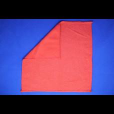 Салфетка из микрофибры 29х29 200 пл красная