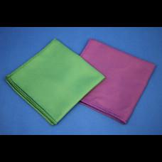 Салфетка из микрофибры 29х29 см 210 пл  для оптики фиолетовая