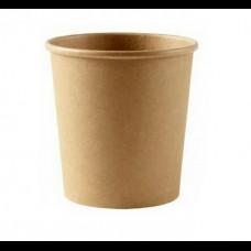Контейнер бумажный для супа 450 мл Крафт