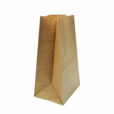 Пакет бумажный 180х120х280 крафт 50 гр ПП