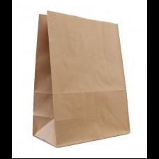 Пакет бумажный 220х120х280 крафт 50 гр (1000)