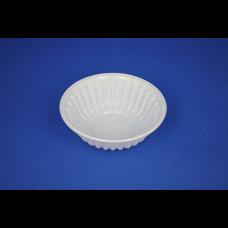 Тарелка-креманка белая ПЭТ (4000) СТ