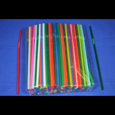 Трубочки с гофр. цветные 5х210 250 шт.