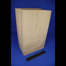 Пакет бумажный 220х120х290 крафт 50 гр