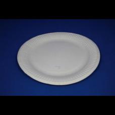 Тарелка бум. круглая d-230 h-18