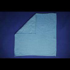Тряпка для пола из микрофибры 50х80 см СТАНДАРТ голубая