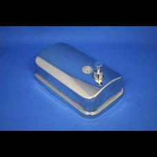 Диспенсер для жидкого мыла 1000 мл метал матовый