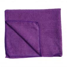 Тряпка для пола из микрофибры 80х100 см 250 пл фиолетовая