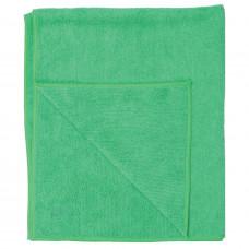 Тряпка для пола из микрофибры 50х60 см СТАНДАРТ зеленая