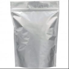 Пакет Дой-пак 120х200 (30+30) крафт с зип-локом БОПП метал