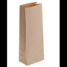 Пакет бумажный 120х80х330 крафт 70 гр (800)