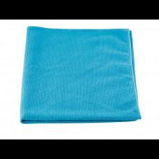 Тряпка для пола из микрофибры 60х80 см 250 пл голубая