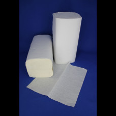 Полотенце бумажное V-укл. белое 1-сл. 250 шт. ТС