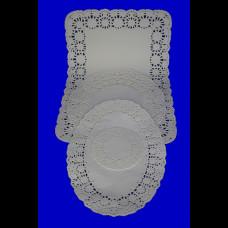 Ажурная Салфетка круглая D=10см 100шт.