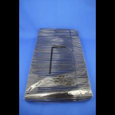 Трубочки с гофр. черные 5х210 1000 шт.