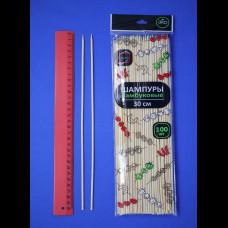 Палочки для шашлыка 30 см БАМБУК 100 шт. КонтинентПак
