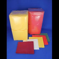 Салфетка БигПак 24х24 желт. 1-сл. 400 шт. (18)