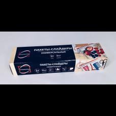 Пакеты-слайдеры для хранения, замораживания продуктов 1 л 15 шт КонтинентПак