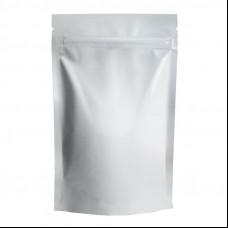 Пакет Дой-пак 105х190 (30+30) крафт с зип-локом БОПП метал