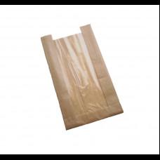 Пакет бумажный с окном 170х70х290(100) ВПМ 40 гр беж.