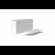 Полотенце бумажное V-укл. белое 1-сл. 200 шт. ТС
