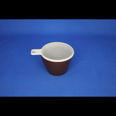 Чашка кофейная 180 мл коричневая ЧП